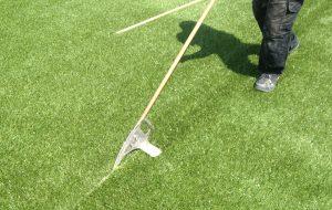 Grass Splitter Lopend Naad Kunstgras Lijm