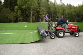 Unroll System Roles Synthetic Grass